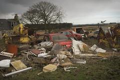 DSC_0001 (srblythe) Tags: uk classic cars ford abandoned graveyard car austin volkswagen scotland volvo rust fiat decay north rusty british scrapyard hyundai leyland vauxhall volvograveyard