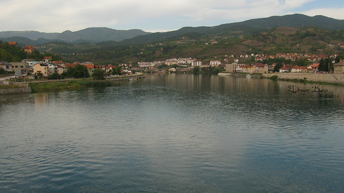 River Drina at Visegrad (view from Mehmed Pasa's bridge)