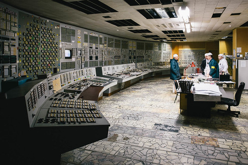 Chernobyl NPP - Control Room 2