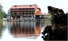 Hotel Mummelsee (horidole) Tags: see wasser schwarzwald blackforest badenwrttemberg mummelsee fortnoire berndsontheimer