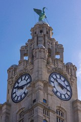 Liver building (manchesterblue59) Tags: uk liverpool easter nikon sunny scouse