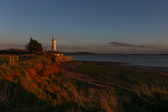 The Golden Hour (juliereynoldsphotography) Tags: sunset lighthouse landscape golden hour hale rivermersey julierobinson juliereynolds