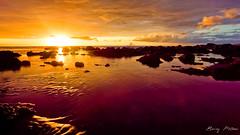 Avirons, Reunion Island - BEMEZPICTURES-7 (Bemez-Pictures) Tags: sunset sky seascape colors clouds canon reflections soleil landscapes couleurs reflexions extrieur reflets paysages runion coucherdesoleil rve bemezpictures