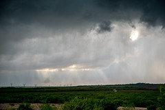 Storm In Green and Blue (25 of 134)-2 (mharbour11) Tags: road sky cloud storm green weather hail texas harbour tornado sweetwater nolancounty