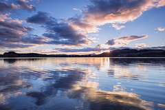 Lake of Menteith (J McSporran) Tags: sunset landscape scotland lakeofmenteith trossachs