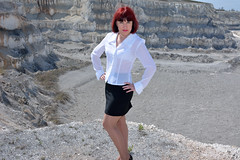 DCS_9777 (dmitriy1968) Tags: portrait cliff nature girl beautiful erotic outdoor wife quarry    sexsual
