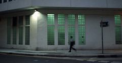 people in the city (Steve only) Tags: film zeiss t dusk contax snaps carl g1 epson f2 452 45mm planar kodakproimage100 245 peopleinthecity tstar v750 gtx970