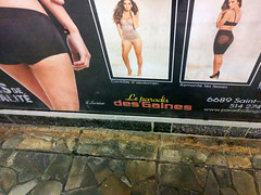 Le paradis des gaines (Exile on Ontario St) Tags: fashion panties subway advertising pub women montral underwear metro mtro ad panty lingerie transit advert mode publicit paradis femmes mtrodemontral undergarment advertizing gaines montrealmetro girdle undergarments girdles gaine