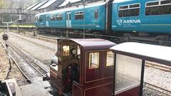 Douglas and a 150 (MylesBeevor) Tags: uk museum wales train miniature tank cymru engine railway loco steam valley locomotive welsh betwsycoed douglas conwy