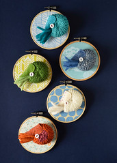 Nautilus Brooches (hine) Tags: toy pin brooch craft nautilus  soloshow ranbu    hinemizushima  helloartmachi