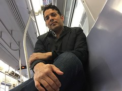 (renniealba) Tags: me brooklyn mta knees nosleep postop postoperation kneesurgery necrosis gettingthere osteonecrosis athritis
