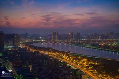 taipei city (Wi 視覺) Tags: city light sunset sky landscapes taiwan taipei 台灣 台北 城市 淡水河 天際線