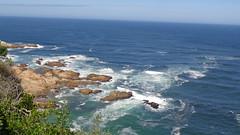Knysna Heads (Rckr88) Tags: ocean africa travel sea cliff travelling nature water southafrica outdoors coast waves south wave cliffs coastal heads coastline knysna westerncape knysnaheads