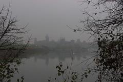 Sleeping Beauty (Marta Montresoro) Tags: autumn italy lake home fog skyline canon photography grey italia mantova homeland lungolago