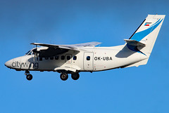 OK-UBA_01 (GH@BHD) Tags: aircraft aviation let airliner turboprop egac bhd let410 l410 turbolet belfastcityairport vanaireurope okuba citywing