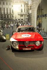 Alfa Romeo GTA (livadev) Tags: alfaromeogta italiansportscar redsportscar dreamcar oldtimer sixtiescar exclusivecar gta alfaromeo