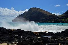 Makapu'u Beach (jcc55883) Tags: ocean sky clouds hawaii nikon surf oahu shoreline pacificocean makapuu nikond3200 makapuubeach makapuupoint d3200
