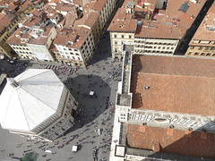 The Baptistery from Giotto's Bell Tower, the Campanile (ashabot) Tags: italy architecture unesco renaissance florenceitaly worldheritagesites worldcities italianarchitechure renaissancearchitechure