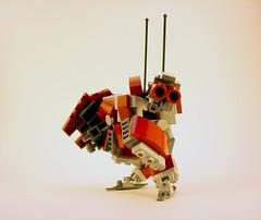HR-53j Demi-Faulter Commander Configuration (Jay Biquadrate) Tags: lego mecha mech moc microscale mfz mf0 mobileframezero