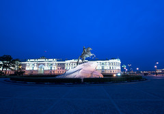 DEP_2885 (Dmitriy An) Tags: city sky monument night stpetersburg neva      peter1 bronzehorseman   1