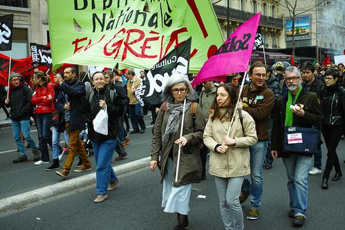 Manifestation du 9 Avril