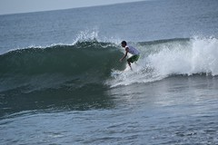 Going for it (Edson-Garcia) Tags: summer beach sports nature puerto waves action surfer guatemala surfing surfspot elparedon