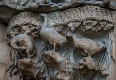 Stone-gueese_DSC2965 (Mel Gray) Tags: barcelona church spain catholic basilica religion gaudi sagradafamilia religiousart religiousarchitecture