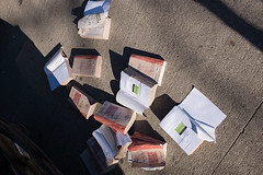 The Word on the street (sevres-babylone) Tags: toronto book sidewalk collegestreet lookingdown bibles wordonthestreet biblia jmartinsevresbabylone x00t 16041617465072720