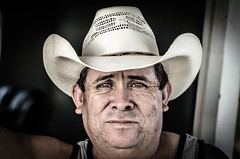 People with a story (rubenej) Tags: portrait people lines grit 50mm eyes cowboy deep gritty noflash cowboyhat wrinkles rugged 50mm18 storytotell d7000