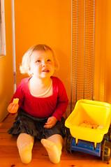 _DSC7319.jpg (Kaminscy) Tags: girl truck fun toy room indoor zabawa dziecko zabawka słonecznie wywrotka kingakamińska pokój