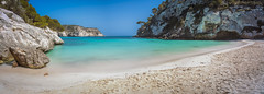 Cala Macarelleta pano (Miguel A. Garc) Tags: longexposure panorama seascape beach spain paradise panoramica menorca baleares balearicislands balears illesbalears longexpo nikond600 longexposuredaylight
