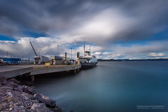 Kalky - Holmestrand (Normann Photography) Tags: longexposure norway no quay wharf vestfold ferryport holmestrand langya leefilters thebigstopper