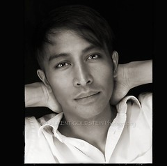 The Soul Behind The Face (designldg) Tags: portrait people man smile sepia contrast square blackwhite artist emotion expression atmosphere happiness soul actor director brunei filmmaker studiolighting cannesfilmfestival panasonicdmcfz200 abdulzainidi laurentgoldstein