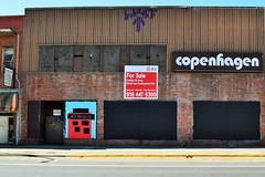 R.I.P. Prince (rickele) Tags: prince vacant boardedup sacramento outofbusiness downtownsacramento copenhagenfurniture developmentopportunityprince tributerip