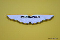 Aston Martin (FionaClarkPhotography) Tags: car yellow silver logo photography cool wings nikon photographer awesome fast favourite fio astonmartin d3200 fionaclarkphotography
