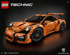 LEGO Technic Porsche 911 GT3 RS (The Brothers Brick) Tags: car lego 911 technic porsche vehicle