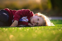Reflection (Philocycler) Tags: boy portrait reflection fall child bokeh childportrait
