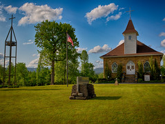 """Harmony Presbyterian (SPS Nature """"Photography"""") Tags: sky church clouds cross landmark harmony arkansas presbyterian johnsoncountyarkansas rogerchavers spsnaturephotography harmonyarkansas"""