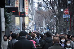 One of the most crowded street in Tokyo_ Omotesando (Pop_narute) Tags: street people japan tokyo walk streetphoto  jam omotesando crowded