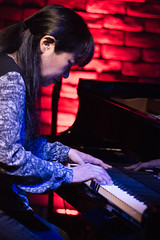 Satoko Fujii live at Cortez, Mito (Japan), 28 Apr 2016 -1000052 (megumi_manzaki) Tags: musician piano jazz improvisation pianist freejazz
