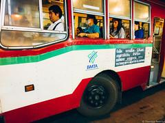 Evening commute in Bangkok (iheresss) Tags: cameraphone bus thailand evening nokia bangkok transportation commute rushhour lumia1020