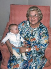 Trudy Berry & Matt Chesner - 1978 (nomad7674) Tags: family grandma history vintage matt berry grandmother matthew brother 1978 legacy gertrude trudy chesner crchair
