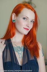 Portrait of the lovely Danielle (Alaskan Dude) Tags: portrait people fashion portraits model women photoshoot modeling models redhead