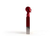 EMAA Trophy, 2015 (Skrekkgle) Tags: red art price design steel award bust edvard trophy camille munch silicone 2015 emaa henrot skrekkgle skrekkoglecom