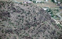 Black Canyon Formation (Paleoproterozoic, 1.759 Ga; Cold Shivers Point, Columbus Canyon, Colorado National Monument, Colorado, USA) 9 (James St. John) Tags: columbus black cold monument rock point colorado rocks plateau canyon formation national shivers schist precambrian metamorphic gneiss paleoproterozoic proterozoic