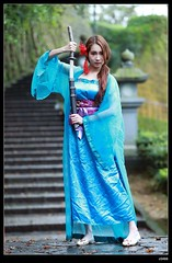 DP1U9406 (c0466art) Tags: old light portrait cute classic girl umbrella canon pose temple photography pretty place action outdoor quality gorgeous chinese taiwan sword lovely cloth charming elegant activity society pure keelung tranditional 1dx c0466art