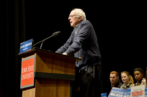 Bernie Sanders at ISU - 1/25/2016, From FlickrPhotos