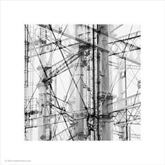 Manchester Industry (Ian Bramham) Tags: manchester photo doubleexposure steel structure 1912 salford gasometer gasstorage ianbramham