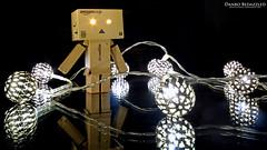 Danbo Bedazzled (AreKev) Tags: metal reflections lights amazon nikon action decoration battery balls sigma mini led figure 1020mm yotsuba hss danbo 1020mmf456exdchsm maroq revoltech d7100 danboard nikond7100