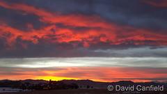January 12, 2016 - Stunning sunset. (David Canfield)